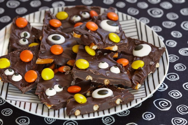 Salted Halloween Monster Bark