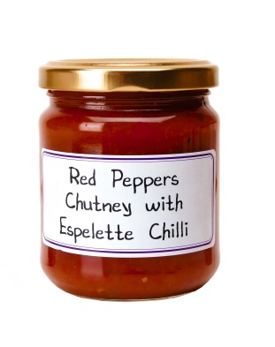 PF105 Red Pepper Chutney w Espelette Chili