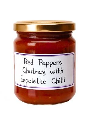 PF105 Red Pepper Chutney w Espelette Chili
