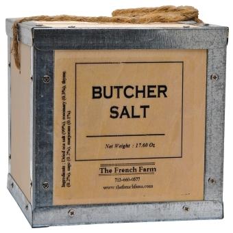 SC12 Butcher Salt Box