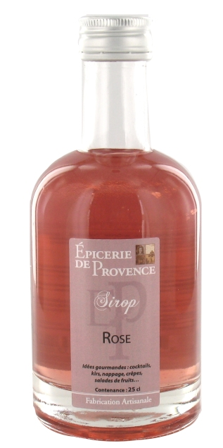 SIROP ROSE BOUTEILLE TRADITION 25 CL EDP